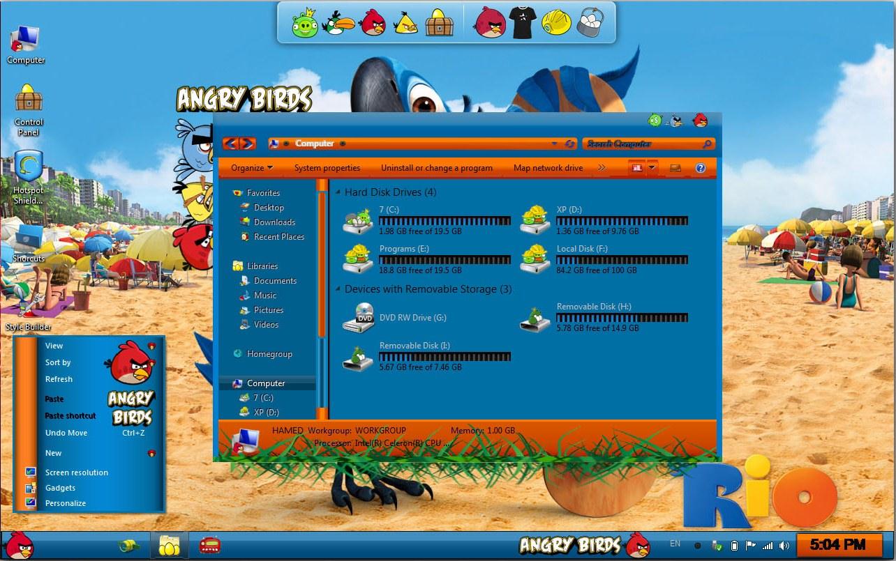 Download angry birds theme pack for windows 7 ...